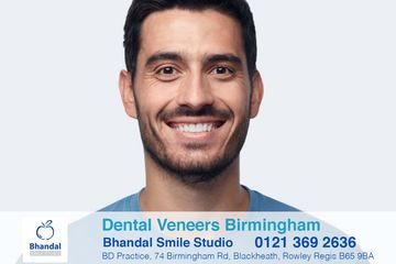 Dental veneers Birmingham